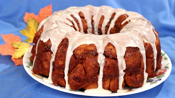 Pumpkin Cinnamon Roll Monkey Bread